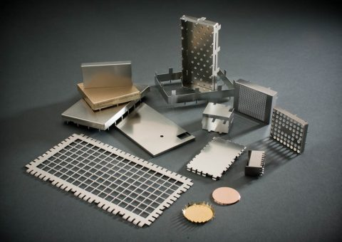 RFI shielding parts.