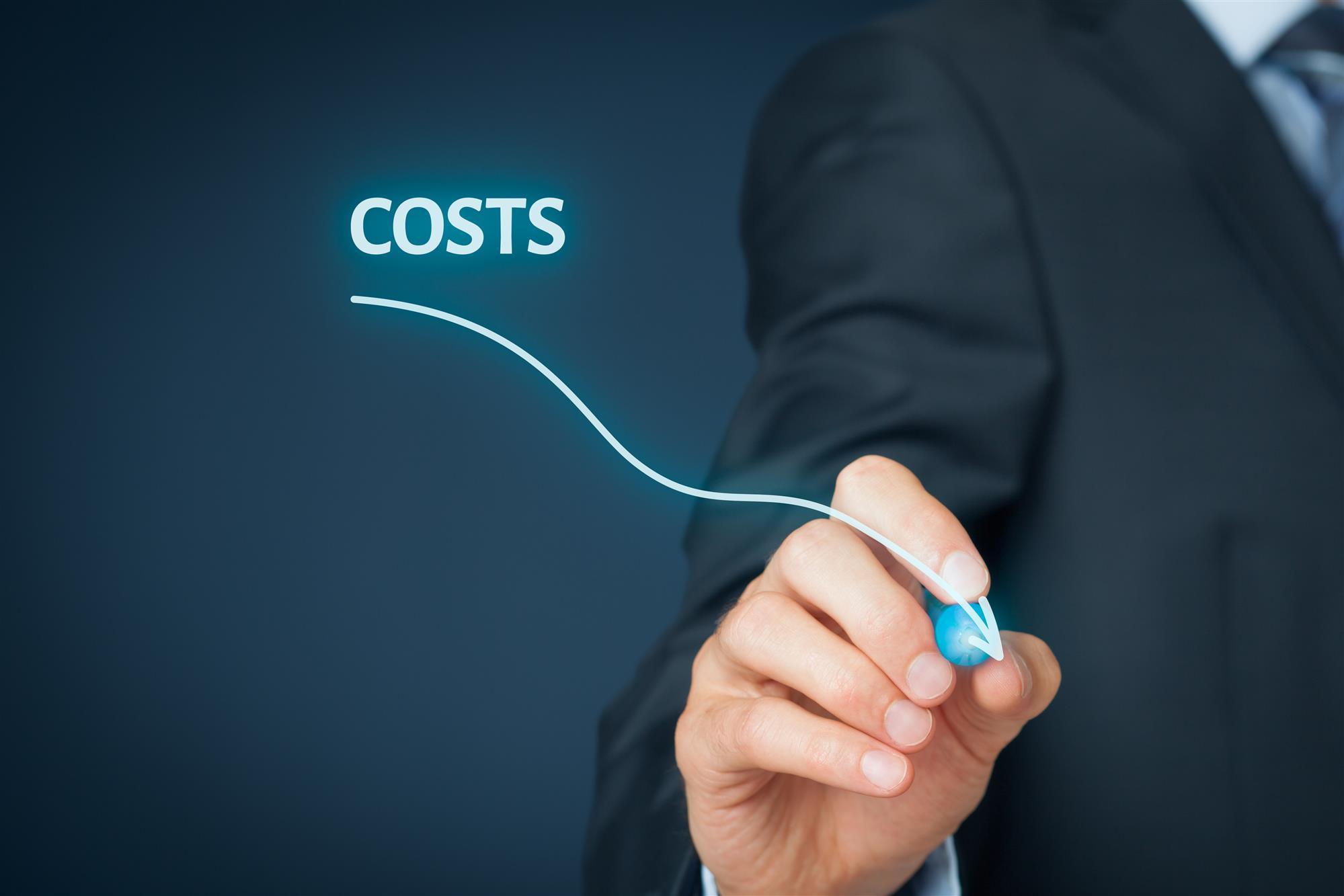 Cost Decrease Arrow