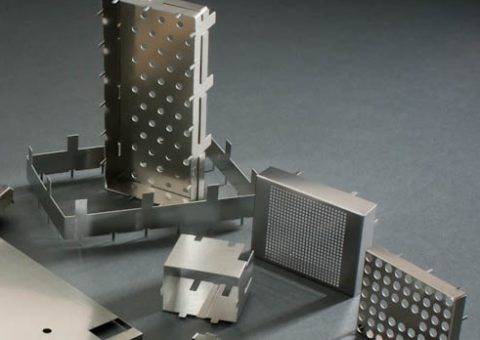 chemical etched board level shielding